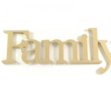 Family, Times New Roman Font (6mm)