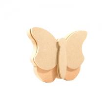 Freestanding 3D Butterfly (18mm + 6mm)