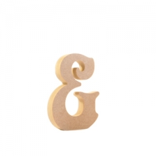 Freestanding Ampersand (&), Victorian Font (18mm)
