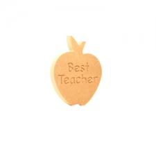 Best Teacher Apple (18mm)