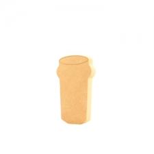 Freestanding Beer Glass (18mm)