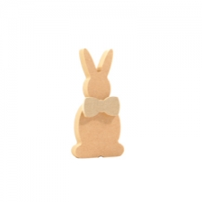 Bunny with a Bow (18mm + 6mm)