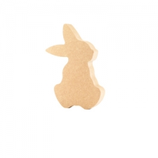 Cartoon Rabbit, Sitting (18mm)