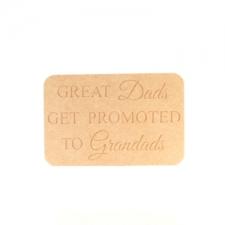Freestanding Dad/Grandad Plaque (18mm)