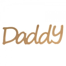 Freestanding Daddy, Segoe Font (18mm)
