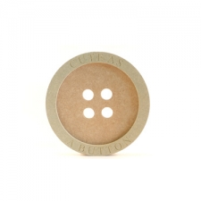Engraved Button 'Cute as a Button' (18mm+6mm)