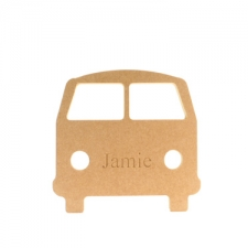 Freestanding engraved camper van (18mm)