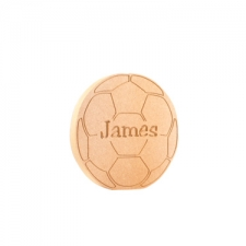 Freestanding Engraved Football (18mm)