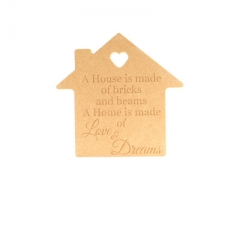 A house is made of Bricks and Beams... (18mm)
