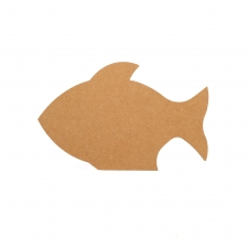 Freestanding Fish Shape (18mm)