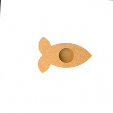 Fish Tea Light Holder (18mm)