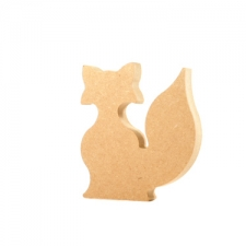 Freestanding Fox (18mm)
