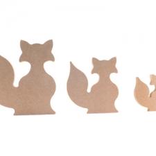 Freestanding Fox (18mm)