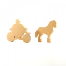 Horse and Carriage, Freestanding (18mm)