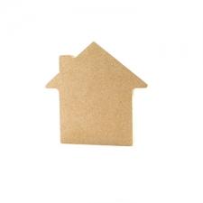 Freestanding House Shape, plain (18mm)