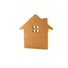 Freestanding House with Window (18mm)