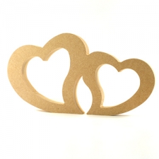 Freestanding Joined Hearts (18mm)