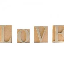 Freestanding LOVE Blocks (18mm + 6mm)