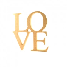 Freestanding LOVE sign (18mm)