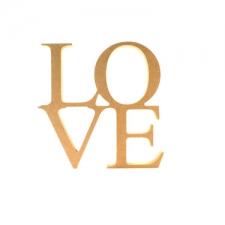 Freestanding LOVE sign (18mm)