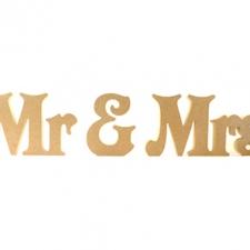 Freestanding Mr & Mrs, Victorian, 3 pieces (18mm)