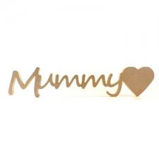 """Freestanding Mummy""""heart"""" (18mm)"""