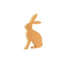 Freestanding Pair of Hares (18mm)
