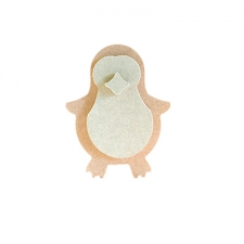 Freestanding Penguin with 3D features (18mm)