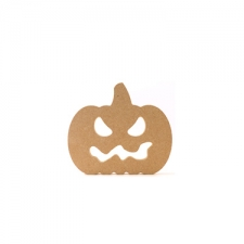 Freestanding Pumpkin with Face (18mm)