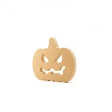 Freestanding Pumpkin with Face (18mm)