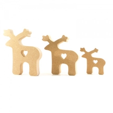 Freestanding Reindeer (18mm)