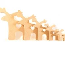 Freestanding Reindeer (18mm)