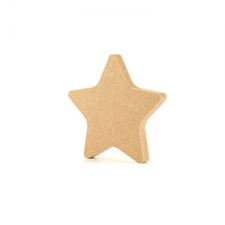 Freestanding Rounded Point Star (18mm)
