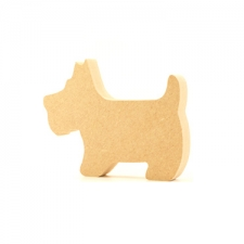 Freestanding Scottie Dog (18mm)