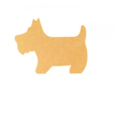 Freestanding Scottie Dog (18mm)