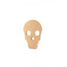 Freestanding Skull Shape (18mm)