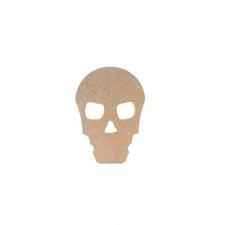 Freestanding Skull Shape (18mm)