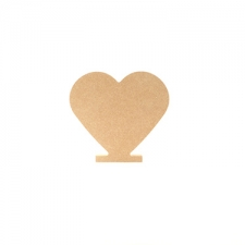 Freestanding Solid Heart (18mm)