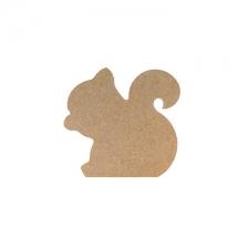 Freestanding Squirrel (18mm)