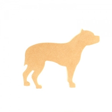 Freestanding Staffy Dog (18mm)