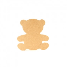Freestanding Teddy Bear (18mm)  SHAPE 1