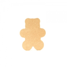 Freestanding Teddy Bear (18mm)  SHAPE 2