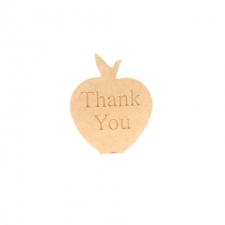 'Thank You' Apple (18mm)