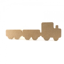 Freestanding Train with 2 Carriages (18mm)