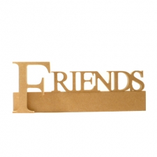 FRIENDS Quote Block (18mm)