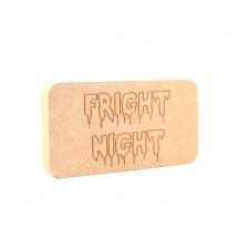 Fright Night, Engraved Plaque (18mm)