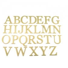 Georgian Font Individual Capital Letters (6mm)