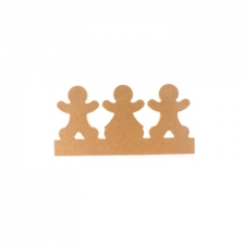 Gingerbread Family on Plinth