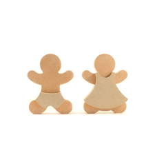 Gingerbread Man with Shorts (18mm)