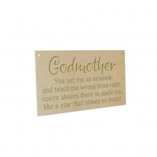 Godmother Engraved Plaque